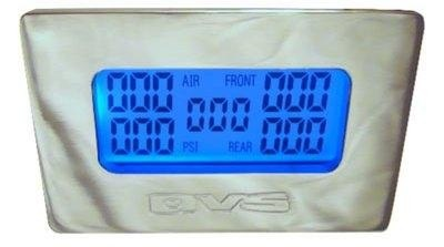 Manometr Elektroniczny AVS z czujnikami - GRUBYGARAGE - Sklep Tuningowy